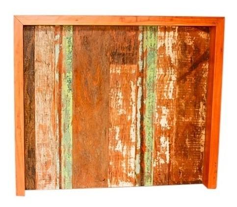 Balcão 1,20x40x1,05 Para Bar Sala Em Madeira De Demolição