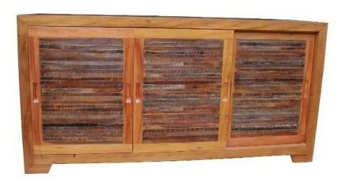 Balcão Buffet 1,80x40x85 Rústico Colonial Madeira Demolição