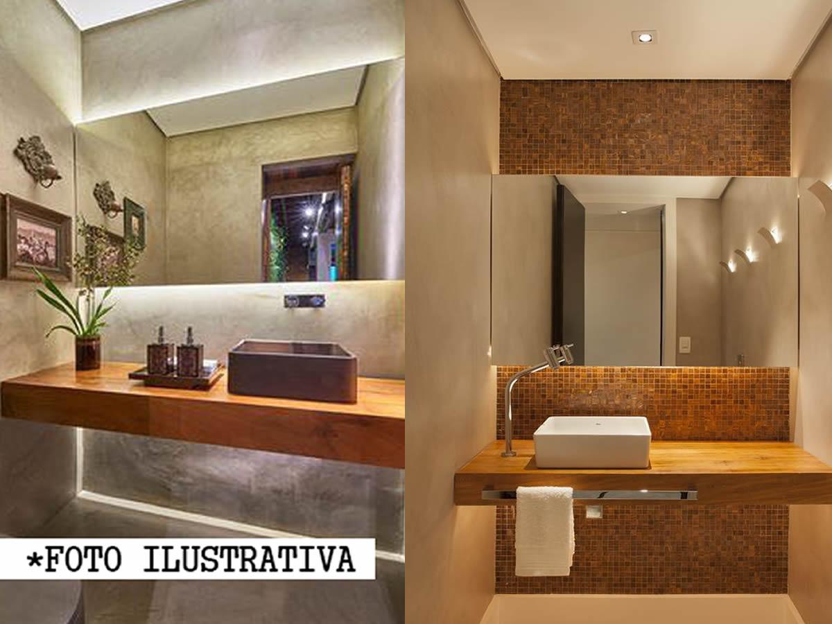 Gabinete Para Banheiro Madeira de Demolição Medindo 50x40cm