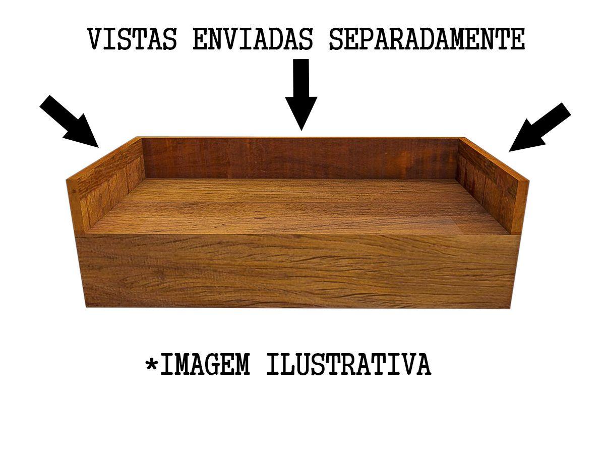 Bancada De Banheiro Ou Lavabo Em Madeira De Demolição 60x40