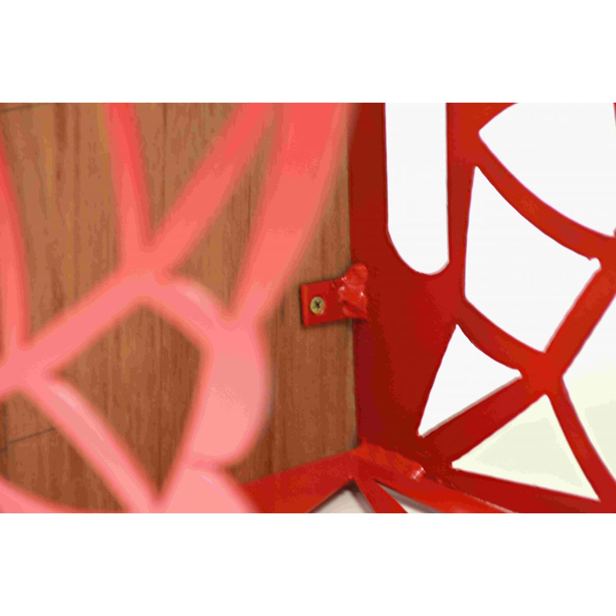 Banco Em Madeira E Ferro Desenhado Várias Cores 36x36x45