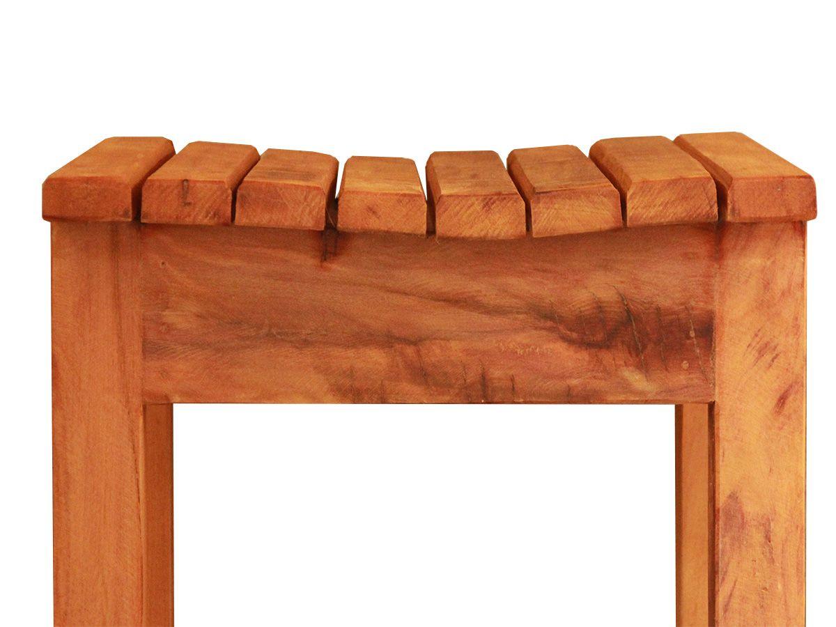 Banqueta Para Bar Fabricada Em Madeira De Demolição Medidas 36x36x70
