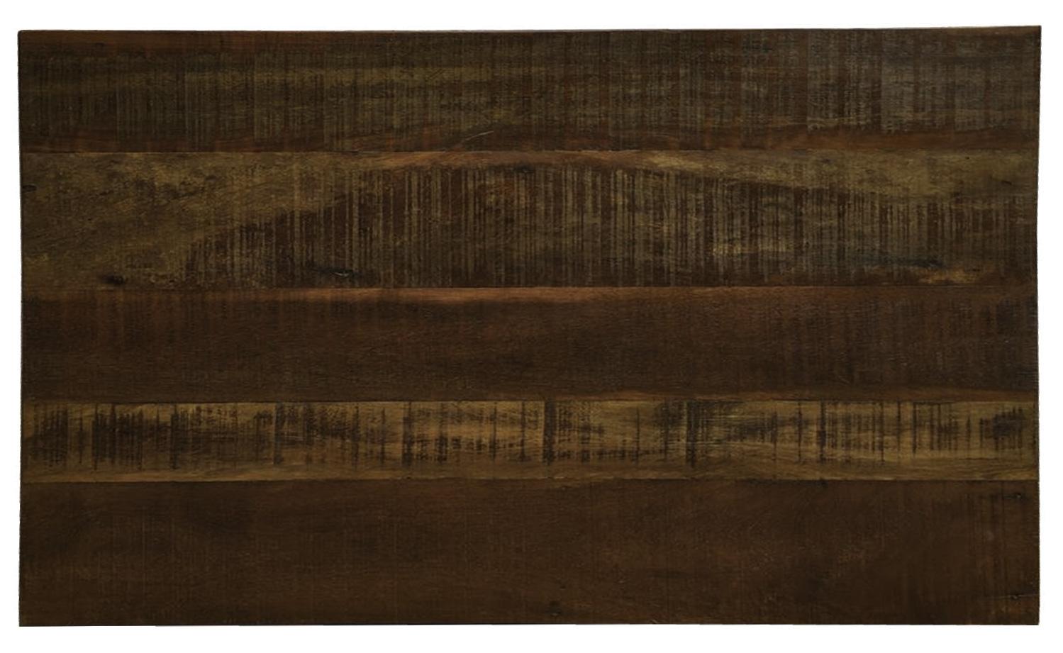 Cabeceira Cama Casal 1,40x50 Madeira Maciça De Demolição