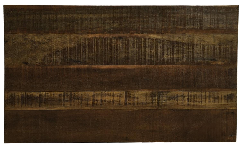 Cabeceira Em Madeira De Demolição Para Cama 1,40x80