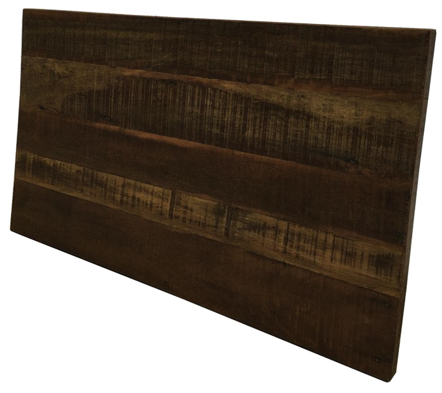 Cabeceira Para Cama De Casal 140x50 Em Madeira de Demolição