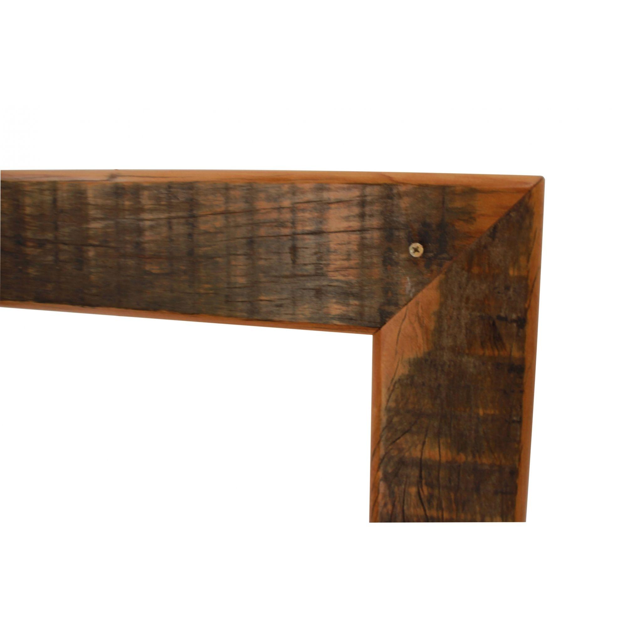 Horta Quadro Vertical Em Madeira Rustica 1,00X50X15