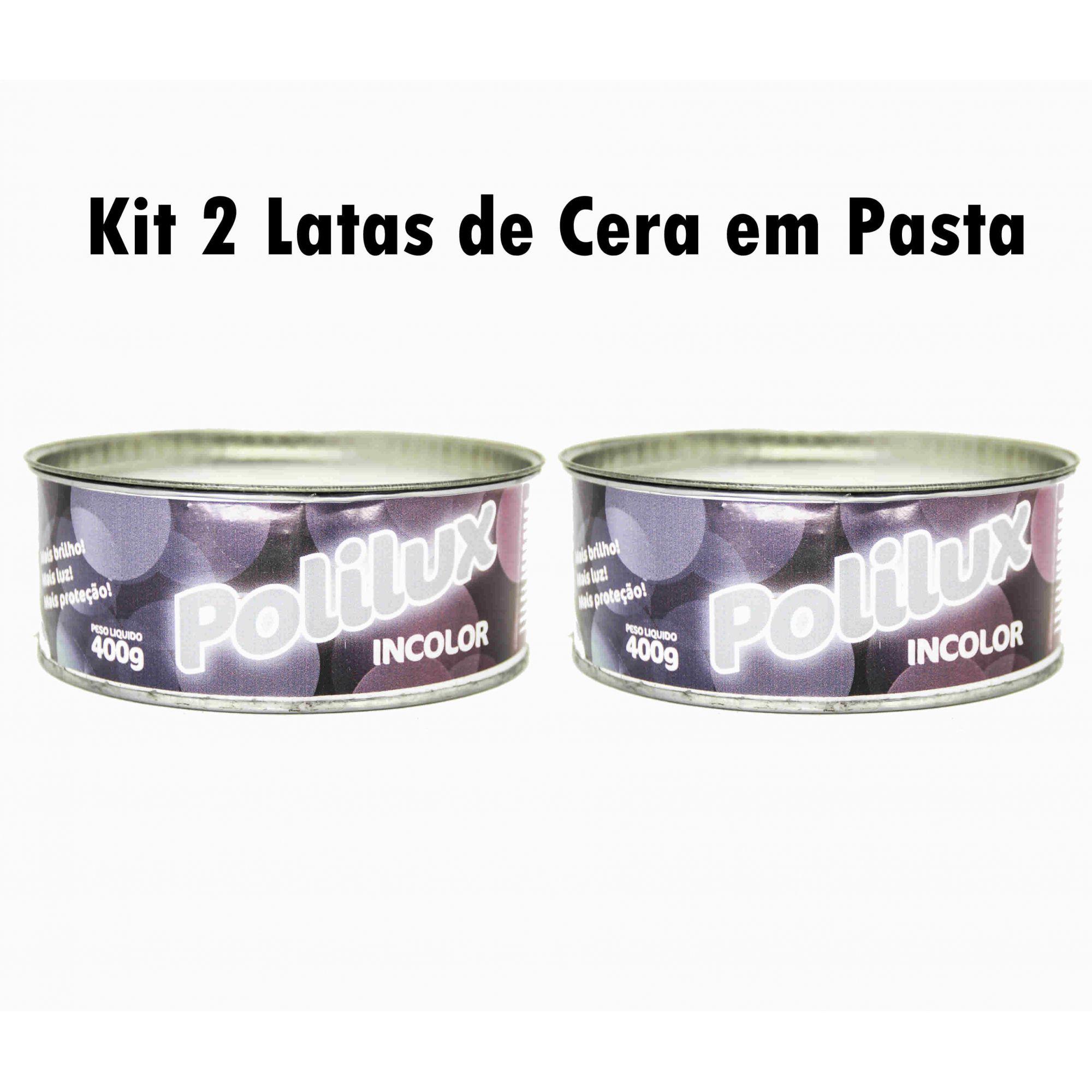 Kit 2 Ceras Em Pasta Para Móveis De Madeira Varias Cores