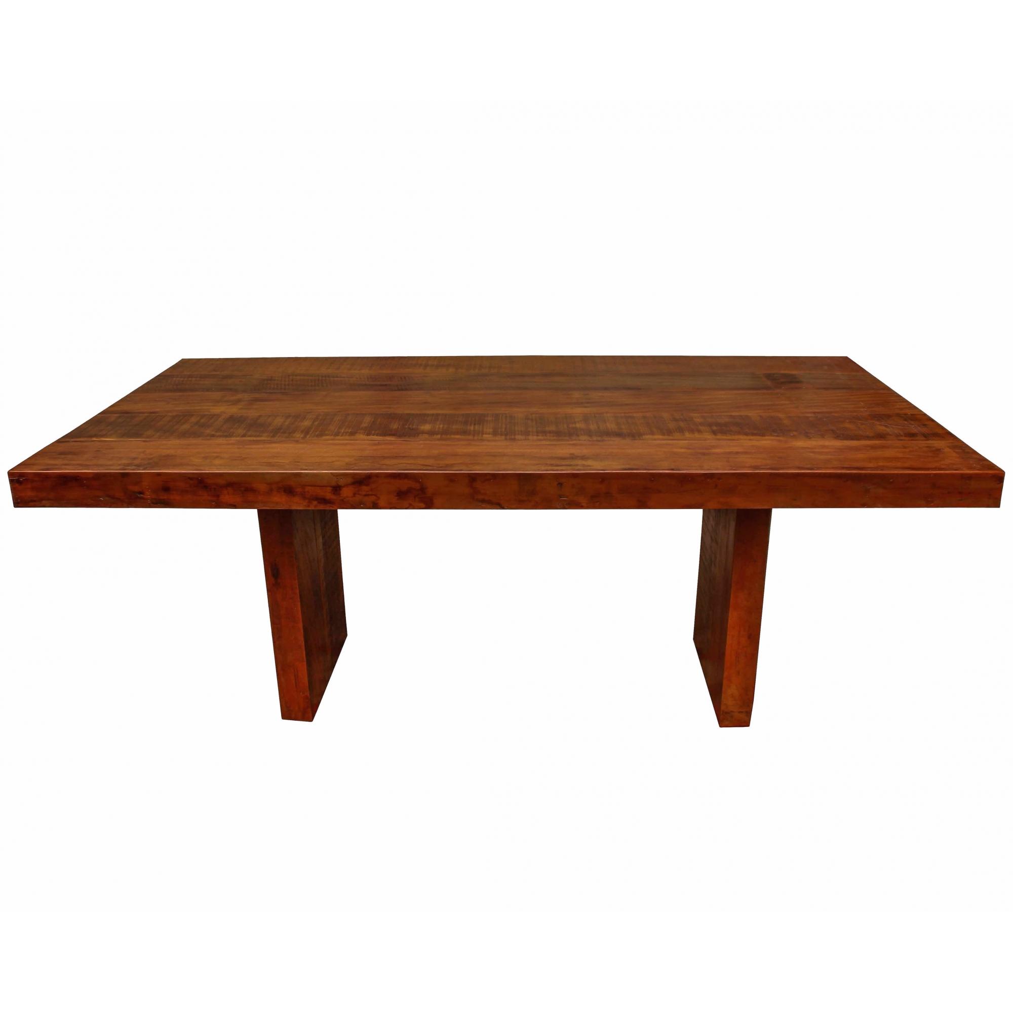 Mesa de Jantar Retangular 1,80x0,90x0,78 Madeira De Demolição