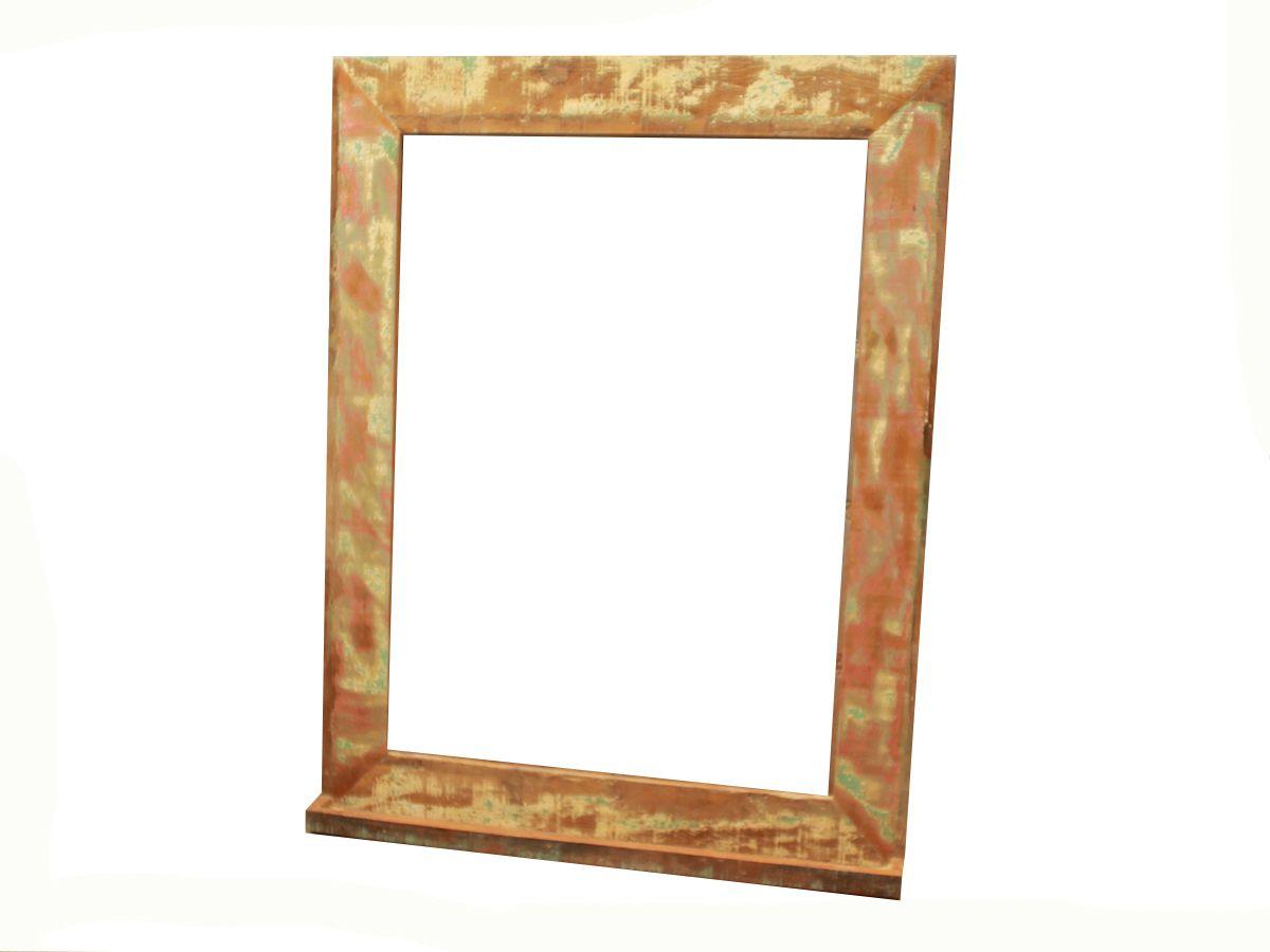 Moldura Para Espelho Em Madeira De Demolição 100x80