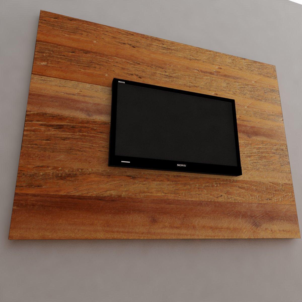 Painel Para TV Medindo 1,60 X 1,20 Em Madeira De Demolição