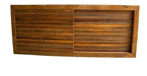 Rack Para Tv Medindo 1,60x40x60 Madeira De Demolição Mista