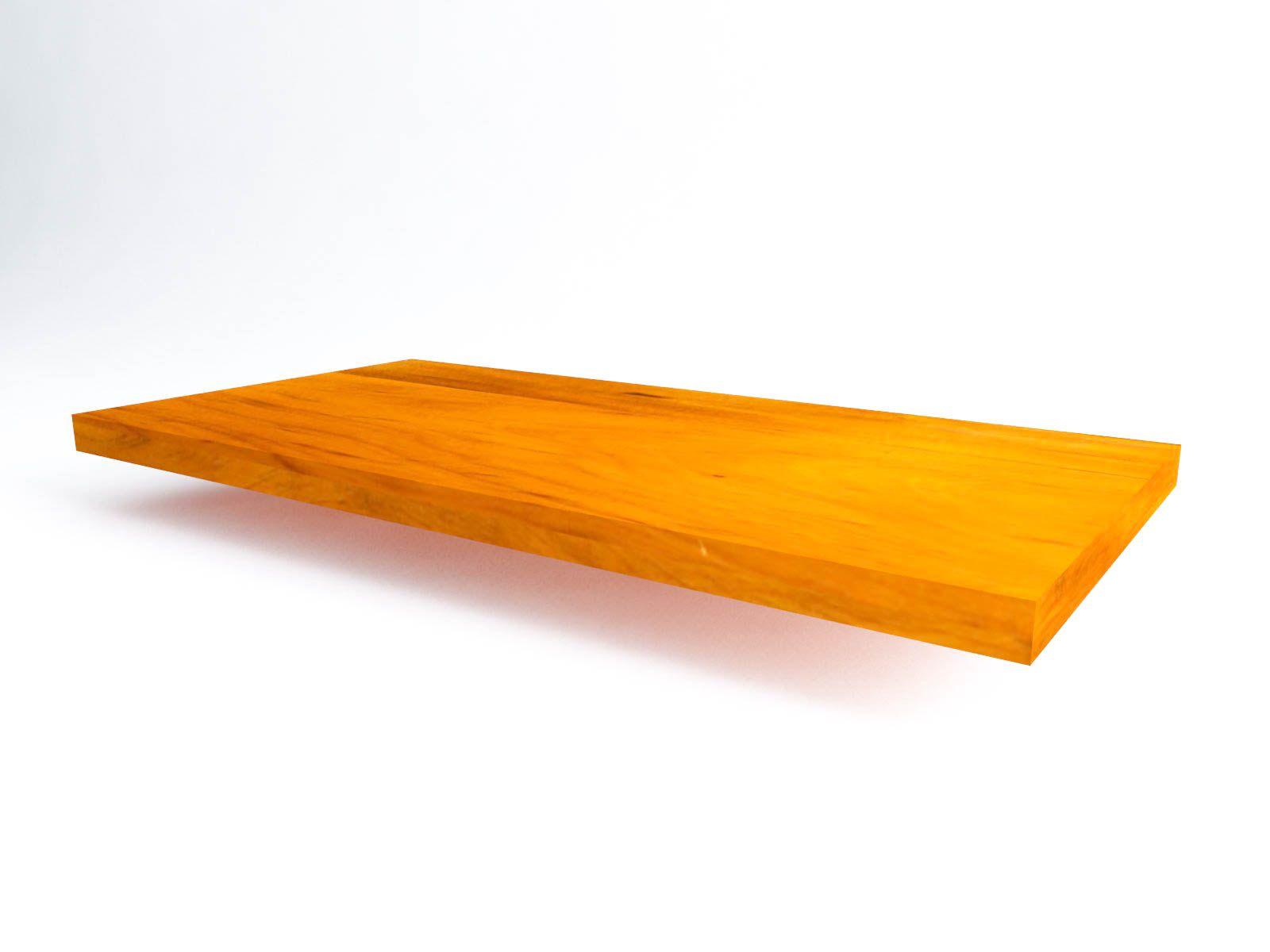 Tampo Retangular para balcão e mesa 2,50x1,50x8cm Em Madeira De Demolição