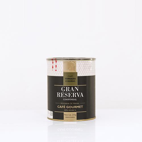 Gran Reserva Gourmet 250g - Torrado e Moído - 100% Arábica