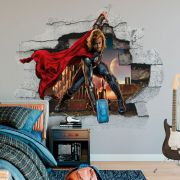 Adesivo de Parede Thor Marvel Vingador Disney