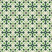 Adesivo de Azulejo Tons de Verde
