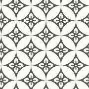 Adesivo  de Azulejo Desenhos Geométricos Cinza