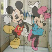 Adesivo de Box Mickey e Minnie Dançando
