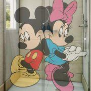 Adesivo de Box Mickey e Minnie de Lado