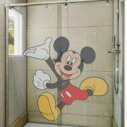 Adesivo de Box Mickey Mouse Brincando