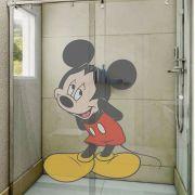 Adesivo de Box Mickey Mouse Tímido