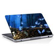 Adesivo de Notebook Borboleta Azul