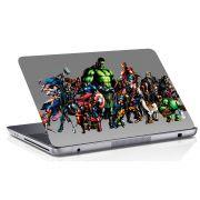 Adesivo de Notebook Super Heróis