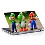 Adesivo de Notebook Super Mario Bros Luigi