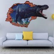 Adesivo de Parede  Buraco Dinossauro