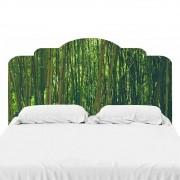 Adesivo De Parede Cabeceira de Cama Bambu