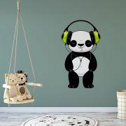 Adesivo de Parede Urso Panda Fone