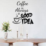Adesivo de Parede Frase Good Idea