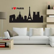 Adesivo de Parede I Love Paris