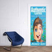 Adesivo de Porta Authentic Games