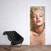 Adesivo de Porta Marilyn Monroe Clássica
