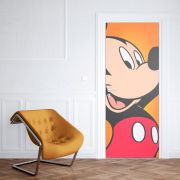 Adesivo de Porta Mickey Mouse de Lado