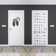 Adesivo de Porta Sapatos Masculino e Feminino