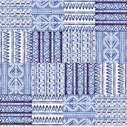 Adesivo de Azulejo Boho Azul