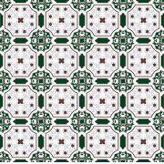 Adesivo de Azulejo Verde Escuro