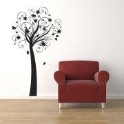 Adesivo de Parede Árvore e Caule