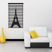 Adesivo de Parede Persiana Torre Eiffel