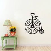 Adesivo de Parede Retrô Bicicleta