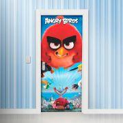 Adesivo para Porta Angry Birds Pulando