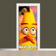 Adesivo de Porta Angry Birds Chuck