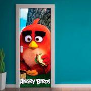 Adesivo para Porta Angry Birds Red Pool