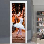 Adesivo para Porta Bailarina Plie