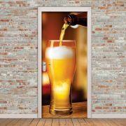 Adesivo de Porta Cerveja no Copo