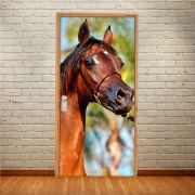 Adesivo para Porta Cavalo Marrom