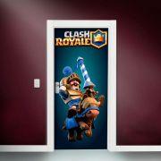 Adesivo de Porta Clash Royale Príncipe