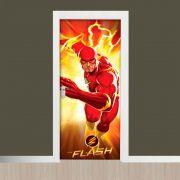 Adesivo de Porta Filme  Flash Vermelho