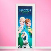 Adesivo de Porta Frozen Fever